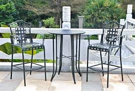 tall bistro table and chairs tall pub table and chairs creative of high outdoor bistro set