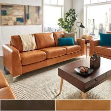 leather and cloth sofa aniline leather sofa by inspire q modern leather vs cloth couch
