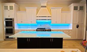 kitchen glass backsplash. Back Painted And Textured Kitchen Glass Backsplashes Backsplash S