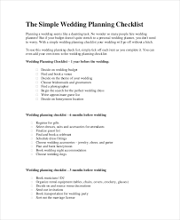 complete wedding checklist wedding planner checklist 12 free word pdf psd documents