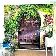 outdoor patio wall decor garden ideas art decorations murals d