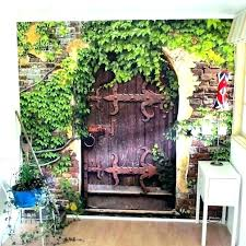 outdoor patio wall decor garden ideas art decorations murals d photo wall art outdoor decor