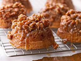 Small Picture Pecan Upside Down Baby Cakes From the Better Homes and Gardens New