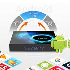 2021 beste T95 Max TV Box Android 10,0 4G 64G Unterstützung 6K 3D YouTube  Google Stimme Assistent t95 H96 H616 X96 MAX PLUS Set Top Box|Digitalempfänger