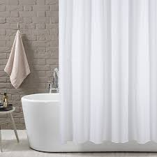 shower curtain solid white 180 x 180 cm 71 x 71 inch 100 polyester co uk kitchen home