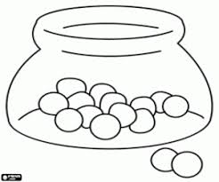 Small Picture Sweets and candies coloring pages printable games