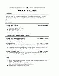 Free Professional Resume Examples And Writing Tips One Job