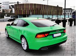 2015 Audi A7 Facelift in GT3 RS Green: The German Hulk - autoevolution