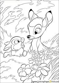 Small Picture 22 best Bambi Coloring Pages images on Pinterest Coloring