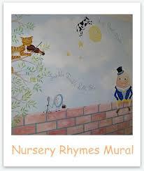 wall art nursery rhymes