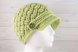 Crochet Newsboy Hat Pattern Impressive Celtic Dream Newsboy Hat Crochet Pattern Charmed By Ewe