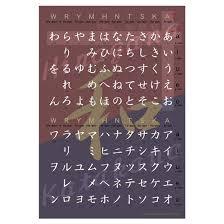 Japanese Kana Chart W Stroke Order