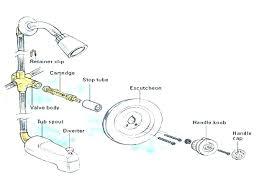 shower diverter replacement valve delta parts moen tub