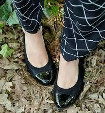 easy spirit black flats getcity comfortable flat wide feet bunions