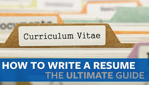 Write A Resume Fascinating How To Write A Resume The Ultimate Guide Proven