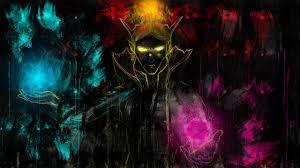 wallpapers dota 2 invoker magic fantasy games