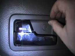ford fusion broken door handle