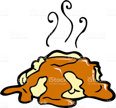 mashed potatoes and gravy clipart. Mashed Potatoes And Gravy Stock Vector Art Inside Clipart UbiSafe