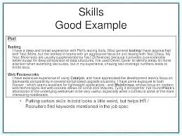 Some Additional Skills Put Resume To On A Best Professional Good