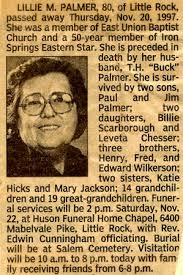 Lilly Malinda Wilkerson Palmer (1917-1997) - Find A Grave Memorial