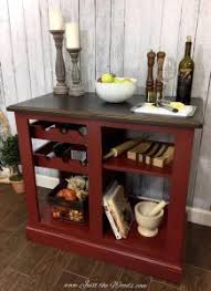 painted kitchen islandsPainted Kitchen Island in the Perfect Shade of Red