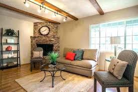 contemporary track lighting living room contemporary. Living Room Track Lighting Contemporary With Regard To . I