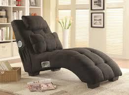 Coaster  Grey Fabric Chaise Lounge StealASofa Furniture - Chaise lounge living room furniture