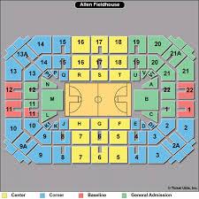 K State Basketball Seating Chart 35 Prototypic Ku Basketball Allen Fieldhouse Seating Chart
