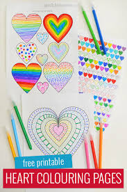 I keep adding more heart shapes to this page each year, so keep scrolling down the page to see the entire selection if you don't see what. Heart Colouring Pages Free Printable Picklebums
