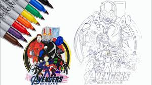 Animated movies like the incredible hulk never fail to strike a chord with kids. Iron Man Captain America Hulk Thor Coloring Pages The Avengers Endgame Coloring Pages Youtube
