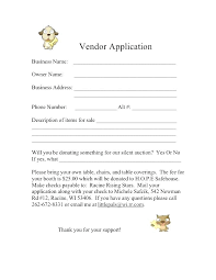 Auction Registration Form Template Event Registration Form Template Vendor Booth Word Pdf
