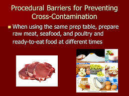 Cross Contamination Foods Ii Chapter 5 The Flow Of Food Physical Barriers To Prevent