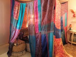 Exciting Indian Canopy Bed Curtains Pics Ideas
