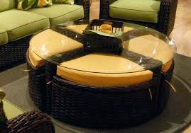 table with ottomans underneath medium size of coffee coffee table small round ottoman small round coffee