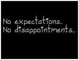 quotes about disappointment and expectations