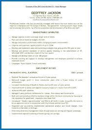 Skills For Nursing Resume Amazing Key Qualifications Resume Resume Key Skills Examples Key