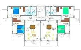 Apartment Building Plans Design Impressive Design