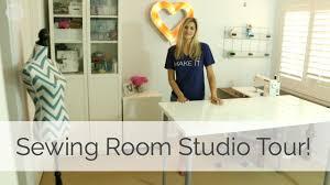 Sewing Room Studio Tour