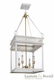 hanging ceiling light lantern white bronze copper chain interior exterior brass gas electric scroll