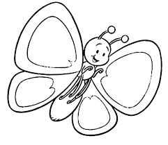 Butterfly Coloring Pages For Toddlers Monarch Butterfly Coloring