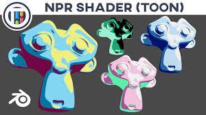 blender 2 8 tutorial how to create an npr shader material in eevee toon shader