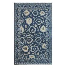 exclusive home decorators collection priory indigo 8 ft x 10 ft area rug