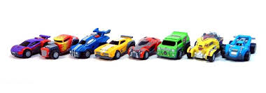 rocket league mini pull back racers
