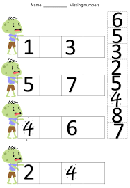 Halloween cut & paste number recognition & writing worksheets ...