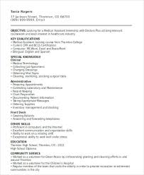 How To Prepare A Cv For Internship 10 Sample Internship Curriculum Vitae Templates Pdf Doc