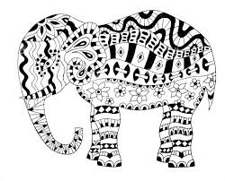 Mother And Baby Elephant Coloring Pages Mom Mommy Page Cool The Free
