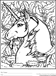 Advanced Coloring Pages Unicorn Coloring Pages Coloring Pages