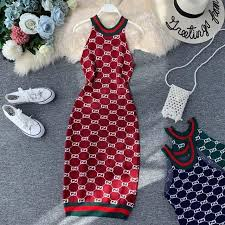 <b>NiceMix</b> Casual Stretch Striped <b>Women Dress</b> Sleeveless <b>autumn</b> ...
