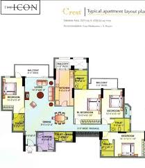 DLF Icon Floor Plan  FloorPlaninIcon Floor Plans