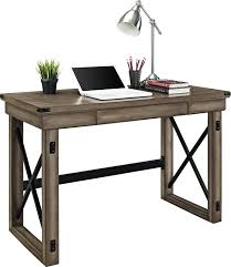 home office writing desk. Amazon.com: Ameriwood Home Wildwood Wood Veneer Desk, Rustic Gray: Kitchen \u0026 Dining Office Writing Desk S